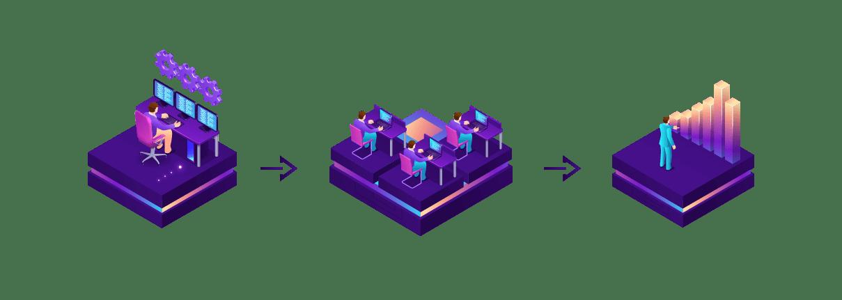 web automation process